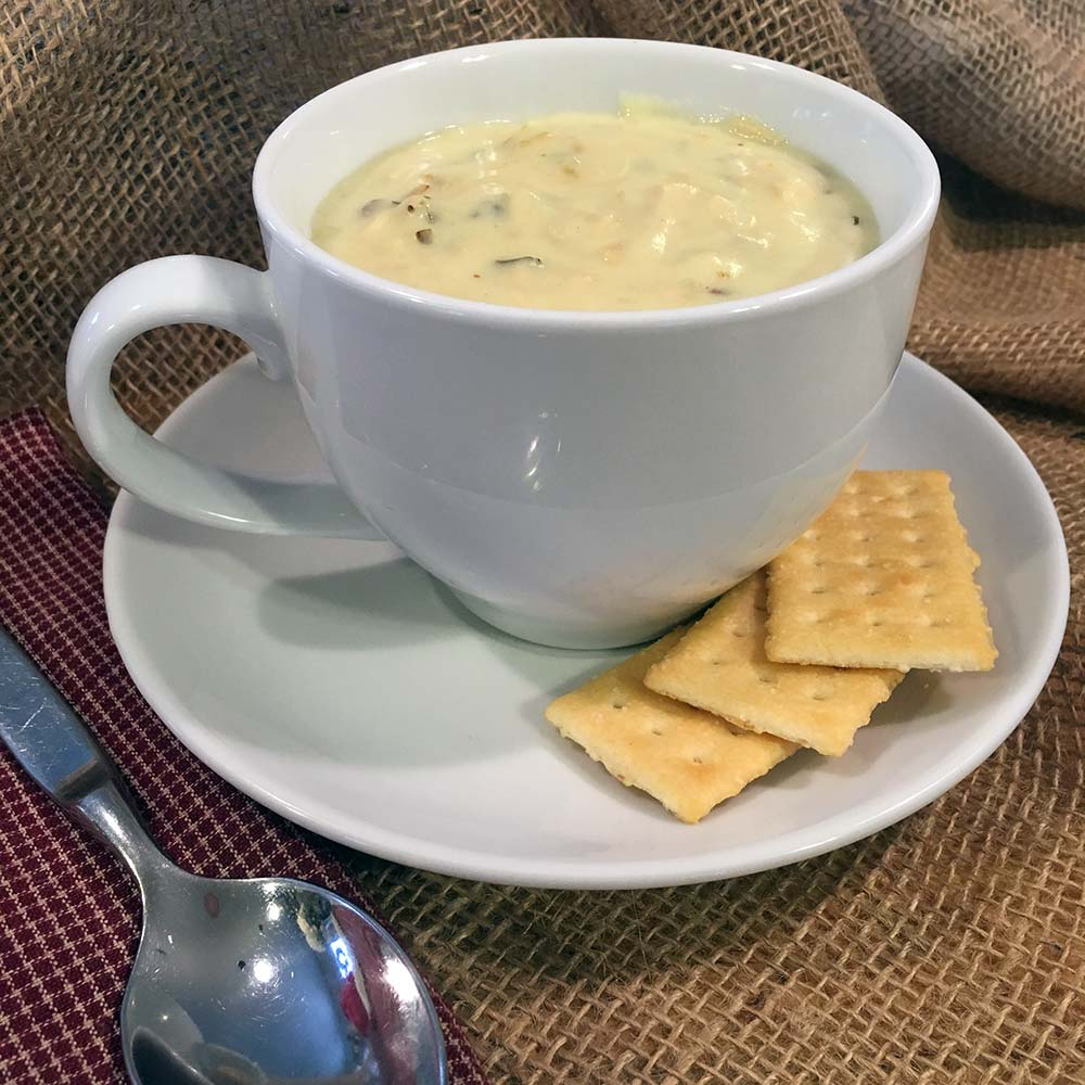 Creamy Chicken & Wild Rice Soup - Delicious Soup